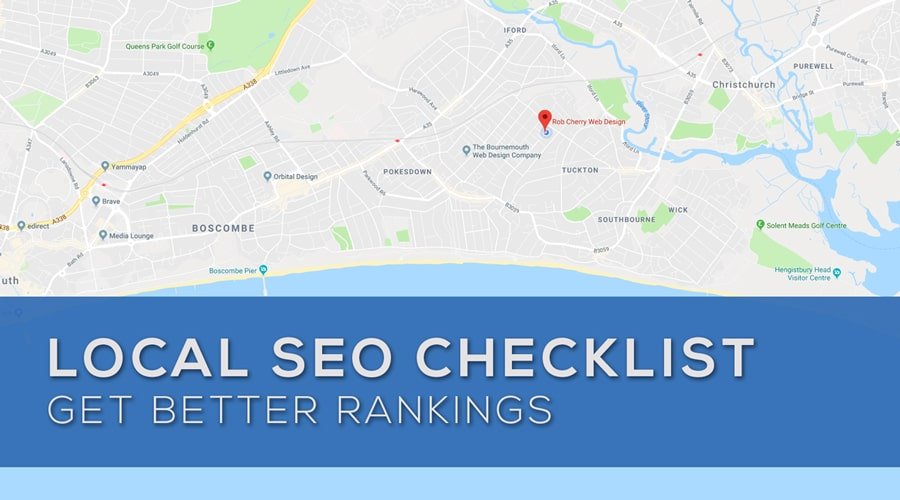 Local SEO Checklist Rob Cherry Web Design